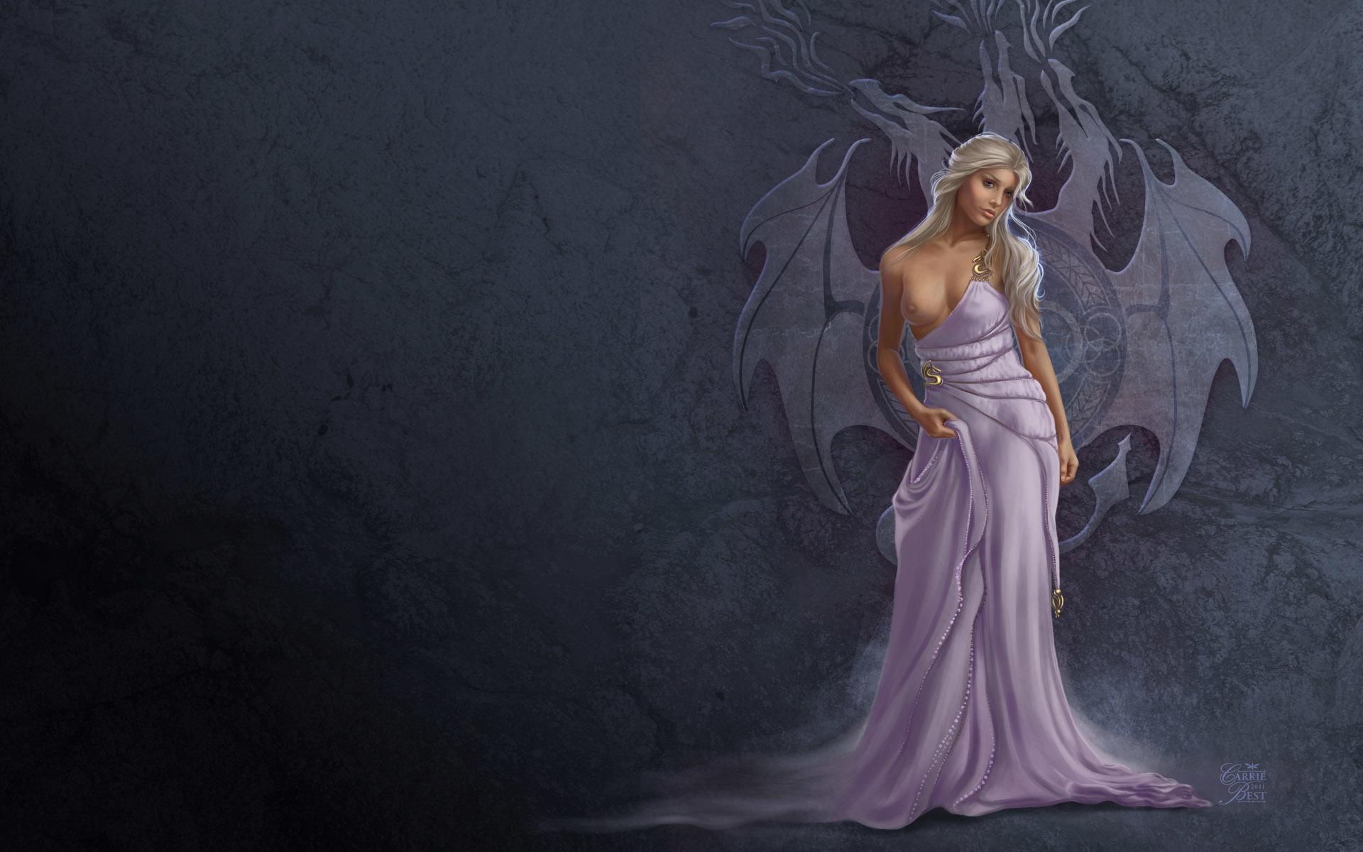 Девушка дракон платья