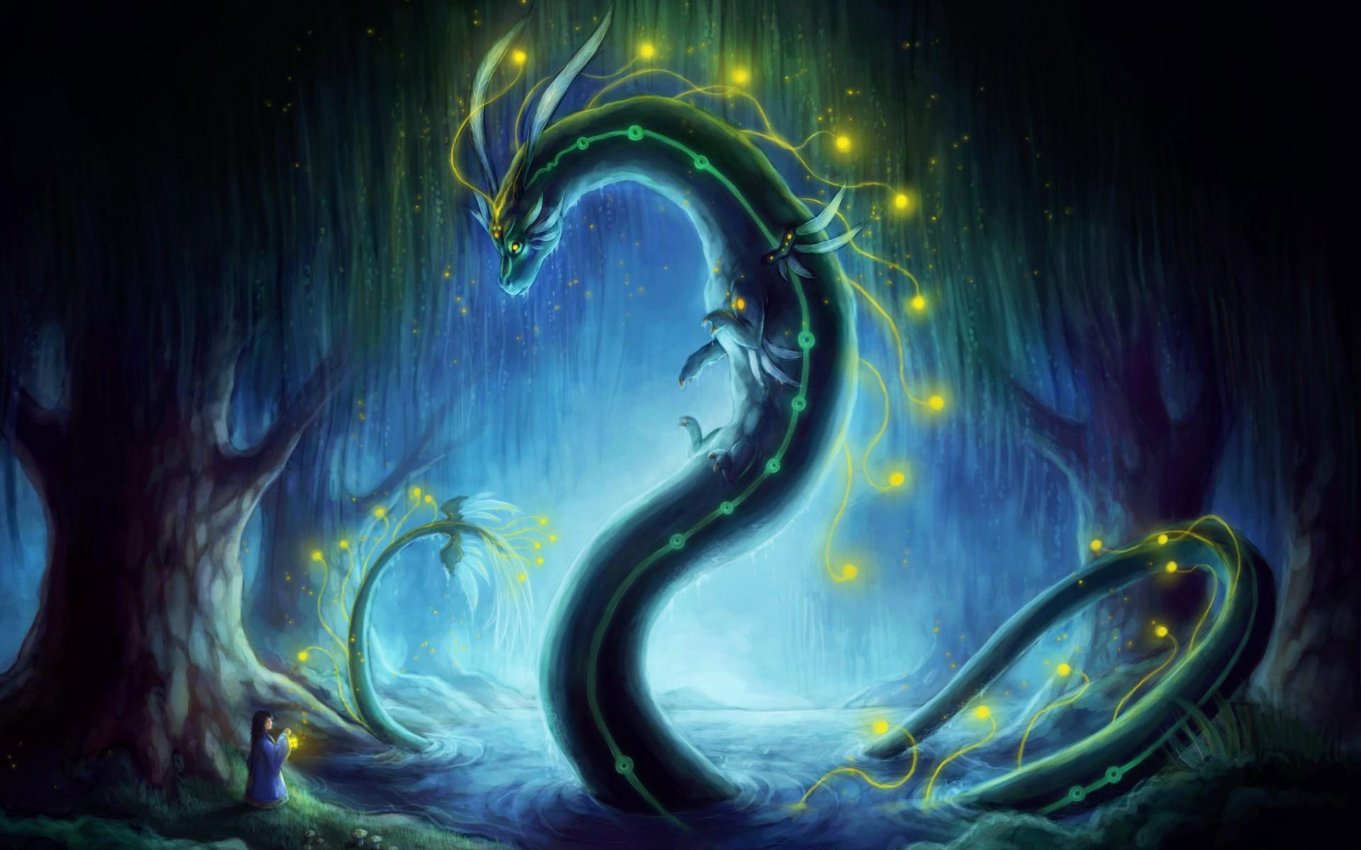 Змей фэнтези картинки